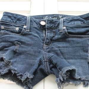 American Eagle Outfitters Shorts - ☀American Eagle dark wash distressed denim shorts